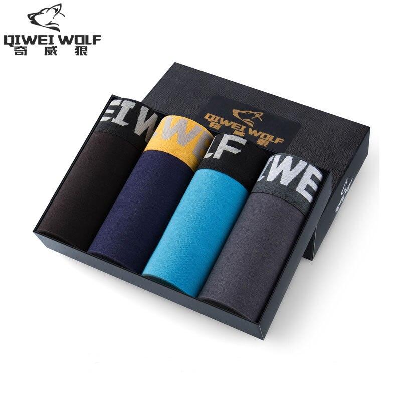 Letter Mens Underwear Boxer Shorts Large Size Male Underwear Modal Cotton Men Underwear Underwear-calvin