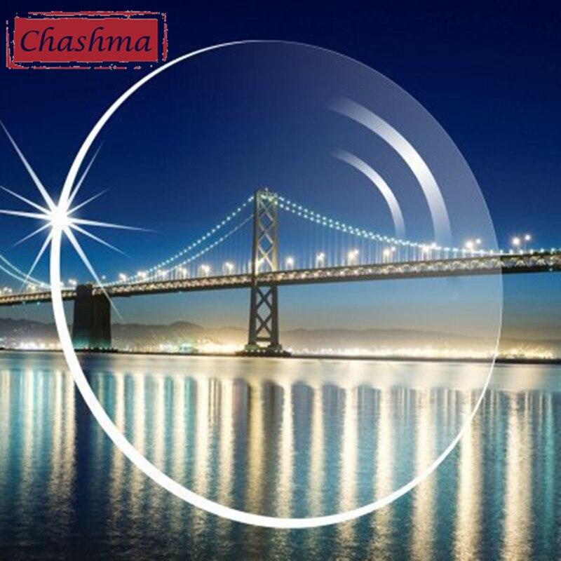 Chashma Livraison Forme 1.61 Index Progressiste Intérieur Outre Lentilles PAL Yeux À Double Foyer Multifocales Optique Verres Progressifs