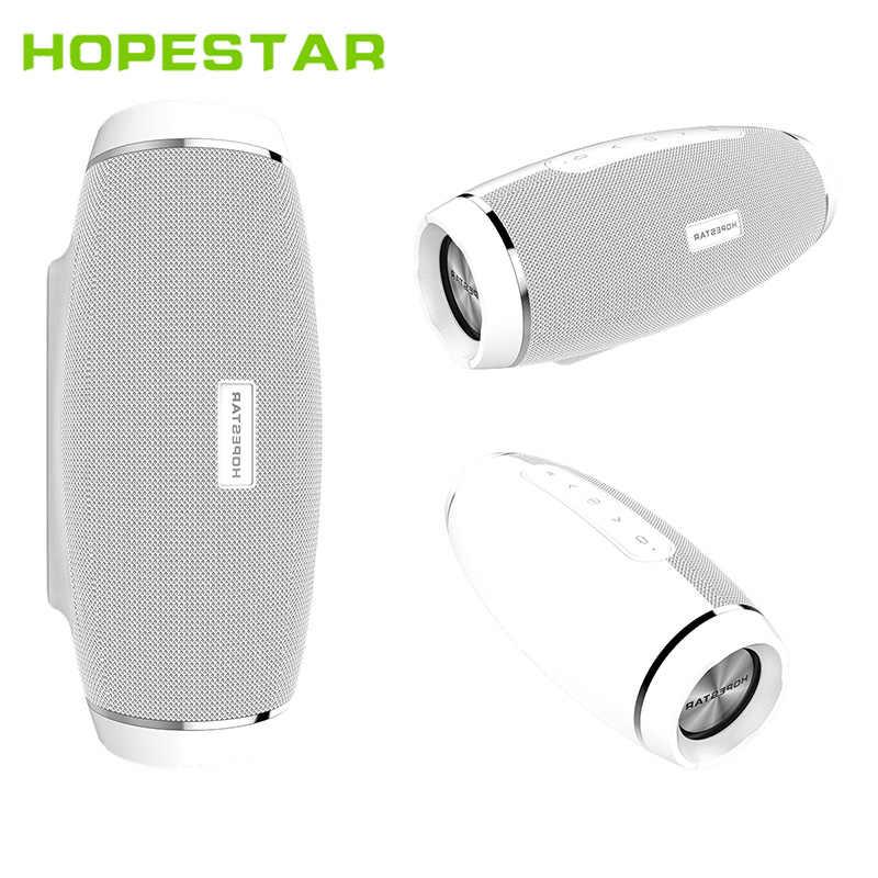 HOPESTAR H27 Rugby sans fil Bluetooth haut-parleur stéréo barre de son extérieur Subwoofer lecteur Mp3 Support TF USB FM chargeur de batterie externe