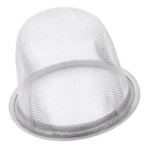 Image 2 - SDFC 2 pezzi 60 millimetri diametro della maglia rotonda tè filtro colino da tè può setaccio filtro argento trasporto di goccia