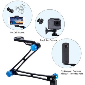 Image 3 - Smatree X1S Foldable Pole/Monopod for GoPro Hero 8/7/6/5/4/3+/3/Session,Ricoh Theta S/V,for DJI OSMO Action Cameras,Cell Phones