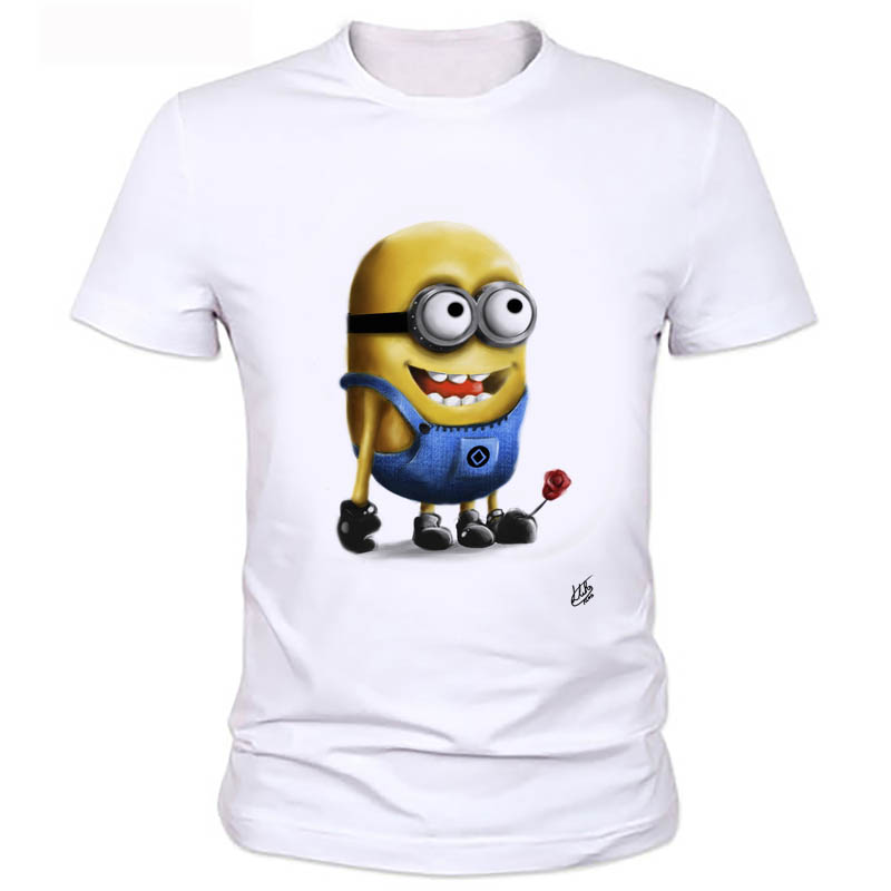 Anime Figure Despicable Me Minions T-shirts