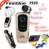 Original Fineblue F920 Wireless Bluetooth Earphone Vibration Wear Clip Headset Stereo Telescopic Headphone Microphone For Xiaomi