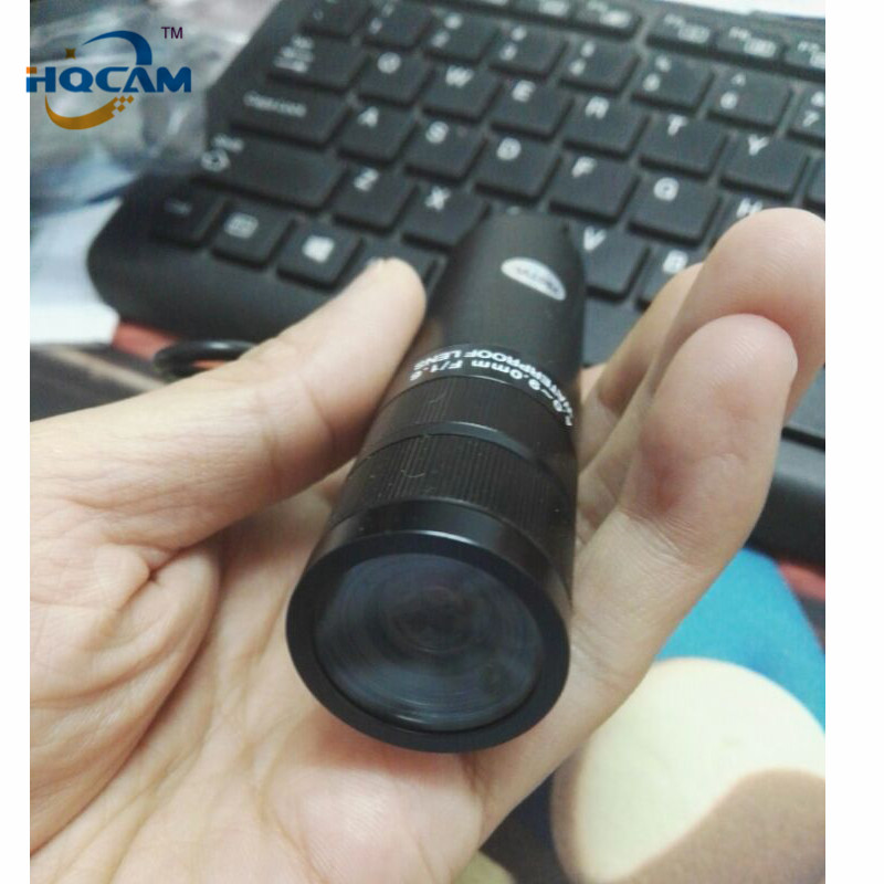 HQCAM 1/3 Sony CCD 480TVL Color Mini Bullet camera Mini Bullet Outdoor Waterproof Security Camera 4-9mm Waterproof Varifocal