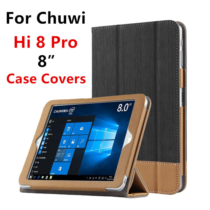 Case PU Pour Chuwi Hi8 Pro De Protection Smart cover Protecteur de la Tablette En Cuir PC Pour CHUWI hi8pro H je 8 Manches 8 pouce Cas Couvre