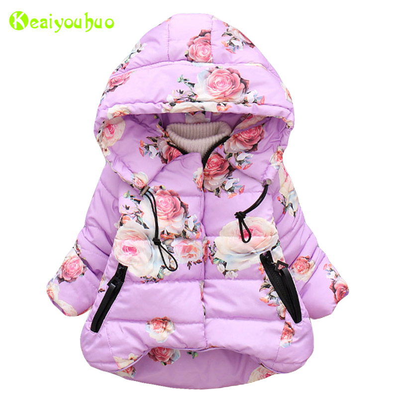 Jacket Coat Outerwear Newborn Baby-Girls Autumn for Infant Kids Floral