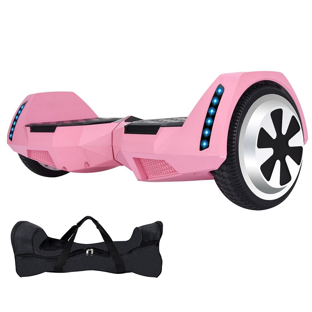 Электрический скейтборд 10 дюймов скутер двухколесный Smart балансировочный гироскутер с светодиодный Bluetooth Динамик удаленный контроль и сум... - 3