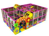 Centre de jeux doux d'intérieur de sucrerie d'enfants de la CE avec le trampoline et le YLW IN171022 de piscine de boule