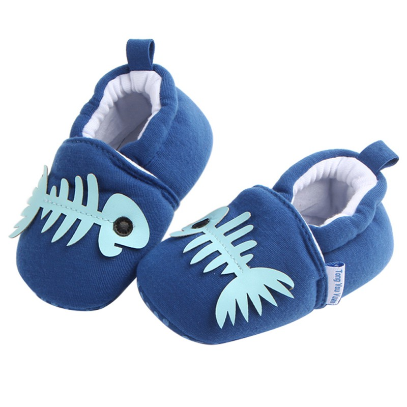 2018 Cute Baby Boys Girls Soft Cotton Crib Shoes Infant Anti Slip Toddler Shoes for 3-11M Kids 8 Styles First Walkers