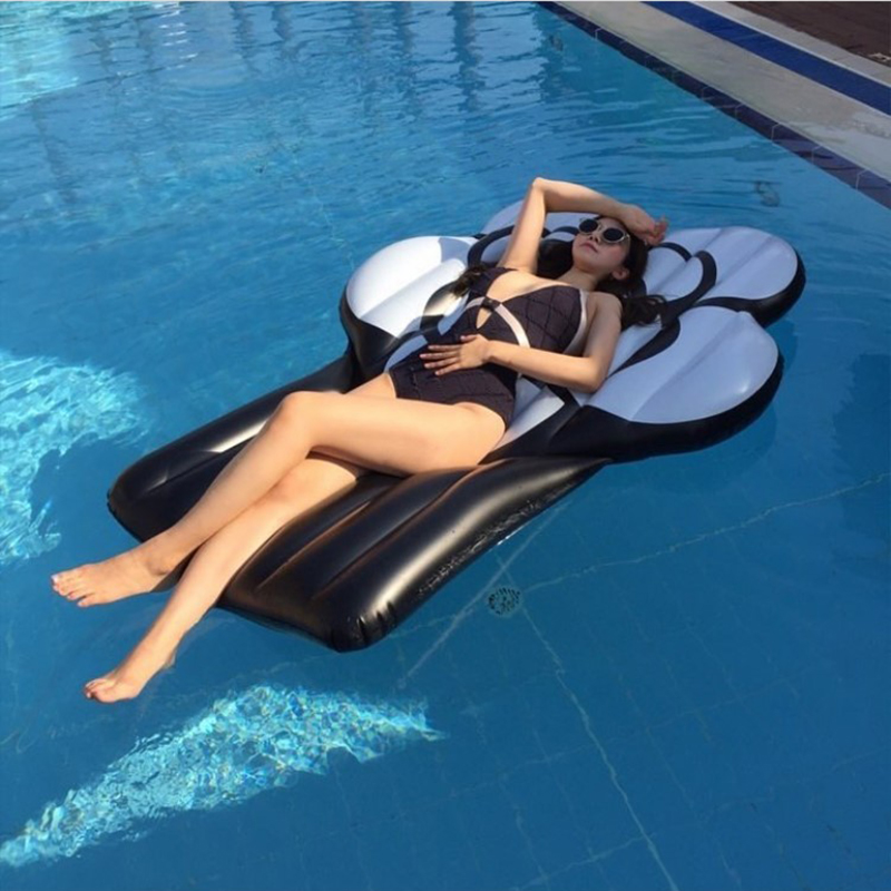 2018 INS Hot Giant Inflatable Black Rose Pool Float Sexy Flower Swimming Ring Air Mattress Sunbath Mat Inflatable Water Pool Toy картридж струйный cactus cs cli471xlc голубой для canon mg5740 mg6840 mg7740 cactus