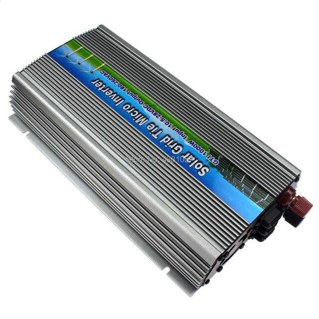 1000 Вт сетчатый инвертор для солнечной панели 18 в, функция MPPT, от постоянного тока 10,5 ~ 28 В до переменного тока 220/110 В чистая Синусоидальная волна на инверторе