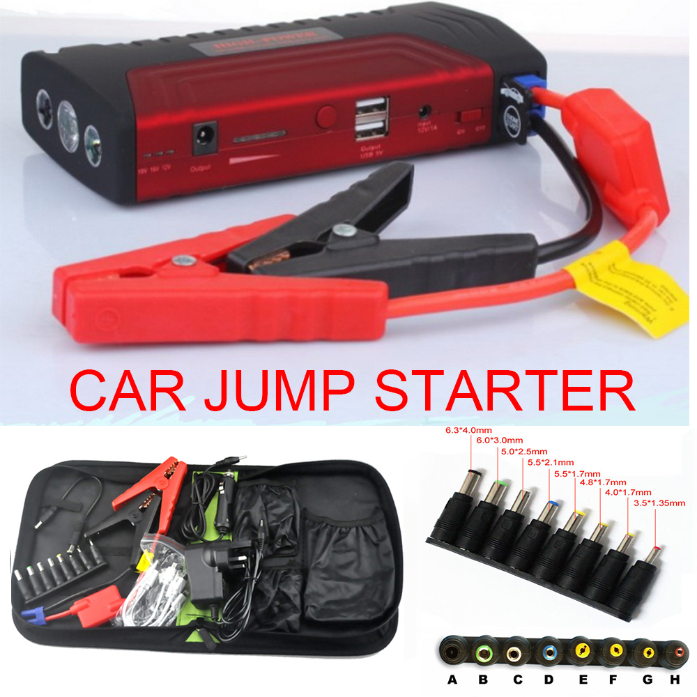 Auto  jump starter  Car Jump Starter Engine Booster Emergency Start Battery Portable Charger Power Bank for Electronics 13500mah 12v multi function mobile power bank tablets notebook phone ca r auto eps starter emergency start power