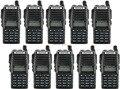 10-P 2016 Nueva Negro BaoFeng UV-82 Walkie Talkie 136-174 MHz y 400-520 MHz Radio de Dos Vías-el envío gratuito