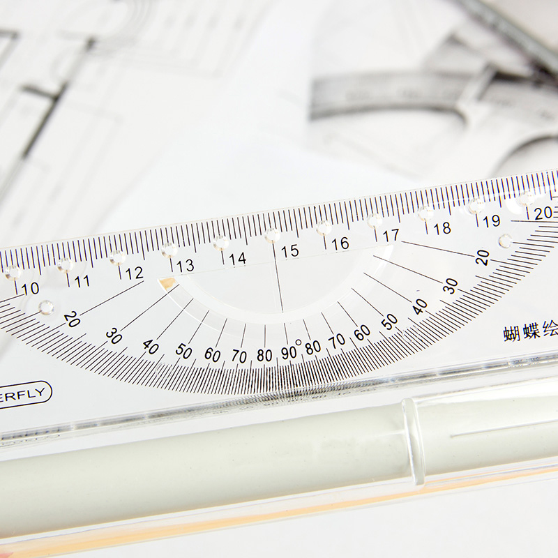 Butterfly 30cm Parallel Ruler Rolling Angle Balance Registration Architect Design Drawing Tool in Rulers from Office School Supplies