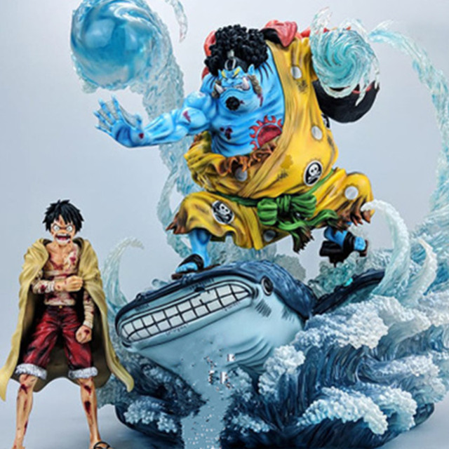 5d7a94c14 ONE PIECE Straw Hats Monkey D. Luffy Jinbei PVC Action Figure Collectible  Model Toy BOX 21-20CM D84
