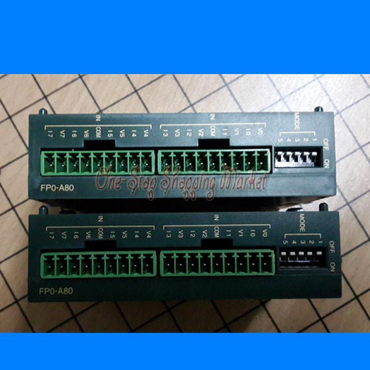 New Original Programmable Logic Controller AFP0401 PLC 8 channels input FP0 AD Converter Unit