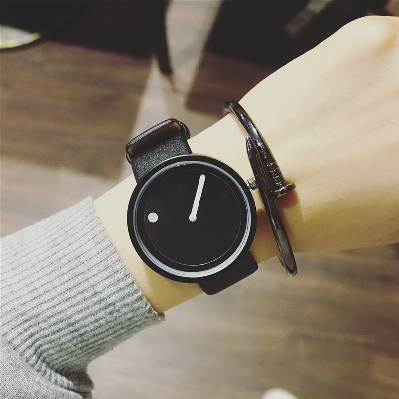 2017 Minimalistlik loominguline käekellad BGG mustvalge uus disain - Meeste käekellad - Foto 4