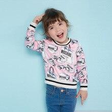 Новая мода высокого качества детская Одежда девушки атласная пальто малыша с длинным рукавом печати куртка