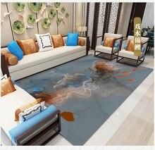 Luxury European Mandala Round Carpet Non-slip Mats Simple Home Yoga Computer Chair Basket Floor Mat Decor Can Be Washed