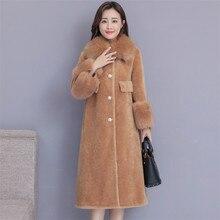 Hohe Qualität Explosionen Freizeit patchwork voller wolle passenden Kleider Frauen Winter Casual Kleid