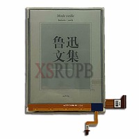 100 Original New 6 Inch E Ink ED060XG1 768 1024 HD For Kobo Glo Reader Free