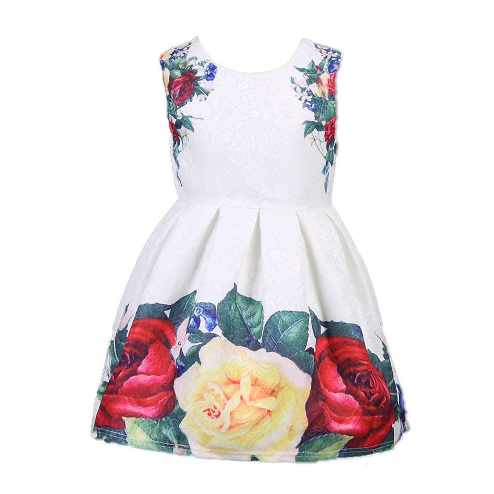 Rose Fashion Store Home: Aliexpress.com : Buy 2017 New Summer Girls Dress White