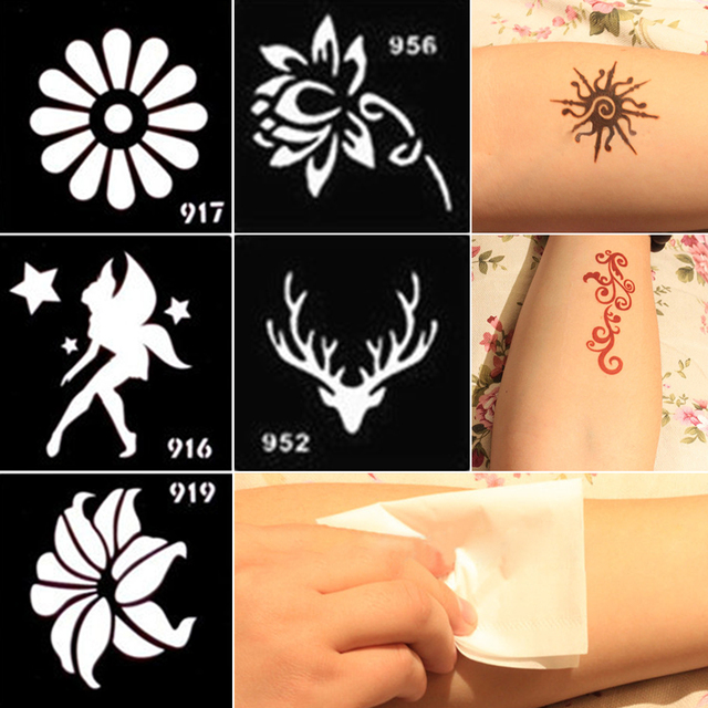 Odorless Tattoo Cream Hand Paint Cream Special Template Small Henna