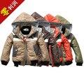 Дети дети / мальчики зимой на открытом воздухе куртка спортивный подростковой одежды водонепроницаемый ветрозащитный дышащий 2на1 мальчик в девочке зимние пальто
