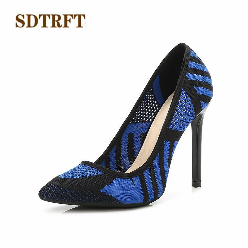 SDTRFT stilettos 11cm thin high heels wedding shoes woman sexy Crossdresser SM pumps Pointed Toe zapatos mujer Plus:35-44 45 46 cdts plus 35 45 46 summer peep toe zapatos mujer sandals 15cm thin high heels platform sexy woman shoes wedding pumps
