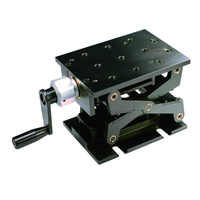 PT-SD1703M Precise Manual Lift, Z-axis Manual Lab Jack, Vertical Translation Stage, Elevator, Optical Sliding Lift, 94mm Travel
