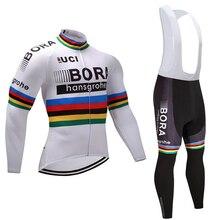 BRA 2017 Autumn Cycling Jersey long Sleeve Cycling Clothing Set Bike Shirt MTB Maillot Ropa Ciclismo Bib Pants #1