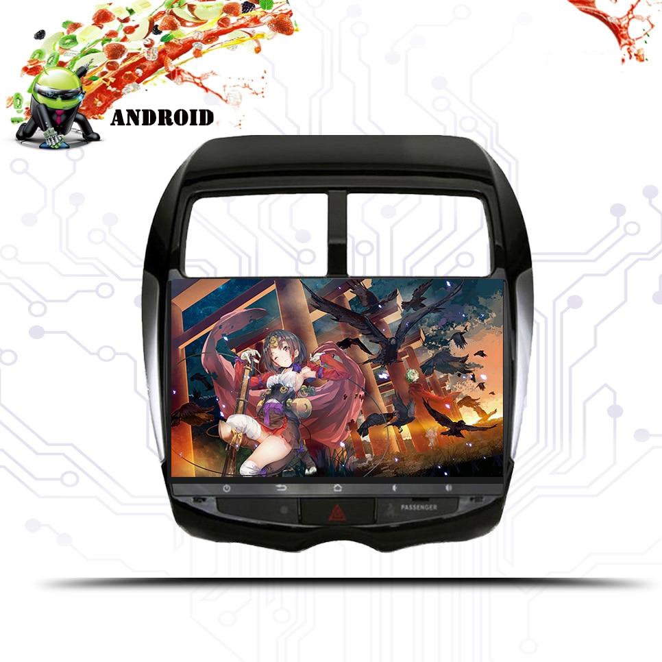 Android 9,1 Автомобильный мультимедийный dvd плеер gps навигация для MITSUBISHI ASX RVR Outlander Sport 2010 2014 магнитофон Аудио Видео - 6