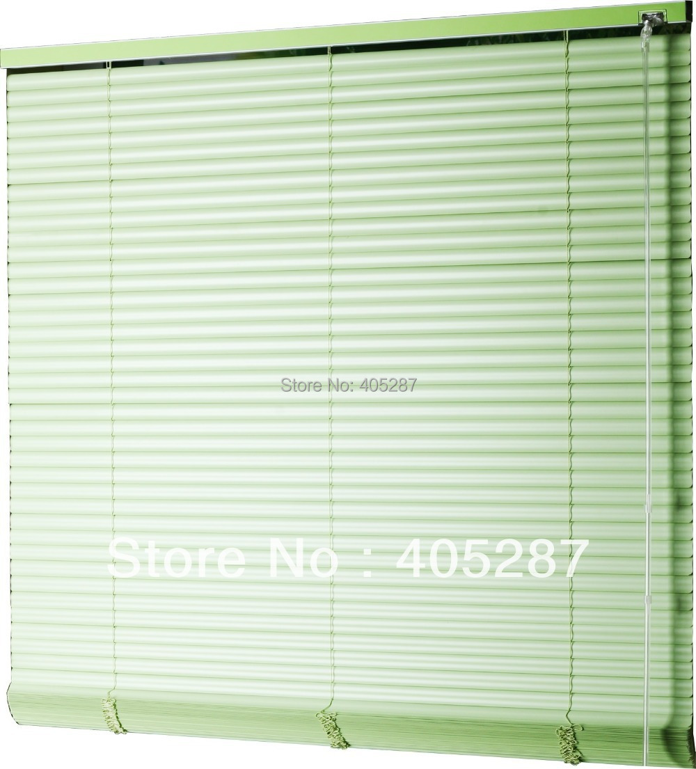 25mm s shape pvc venetian blinds quality customize curtain window blind louver window wand control