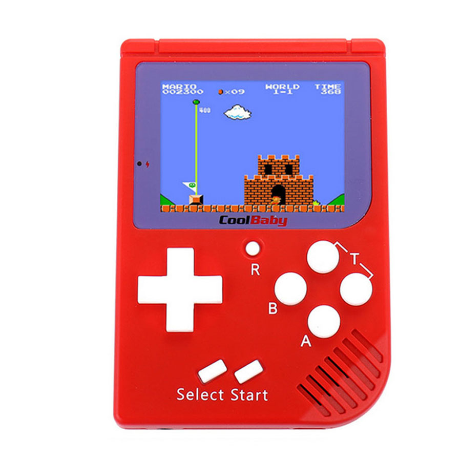 Coolboy Retro Mini 2 Handheld Game Console Emulator built-in 129 games Video Games Handheld Console ...