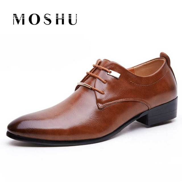 31ae61c33baa Designers Men Flats Gentleman Casual Leather Shoes Luxury Italian Shoes Male  Oxford Zapatos Hombre Plus Size 38-46