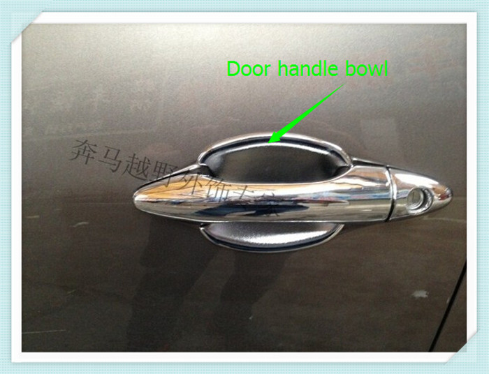 font b Car b font Door Handle Bowl Covers Guard Cover 4pcs For Hyundai Tucson