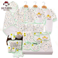 Newborn Clothes 15 20 Pcs Set Cotton Baby Rompers Infant Girl Clothing Long Sleeve Baby Set