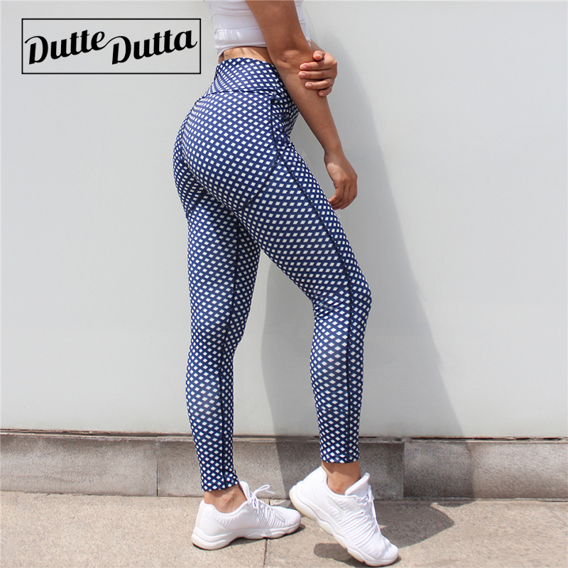 Duttedutta Sport Leggings for Women font b Fitness b font Sport Yoga Pants Gym Workout Tights