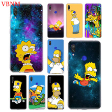 Bart Simpson Fantasy Fashion Soft Silicon Phone Case For Xiaomi Redmi 4 4A 4X 5 5A 6 6A 7 Pro Patterned Customized Cases Cover