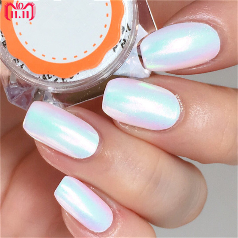 0.2g Mermaid Nail Glitter Powder Shiny Nail Art