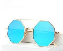 2017 Oversized Square Punk Flat Top Vintage Outdoor Sports Male Sunglasses Men Luxury Brand Retro Steampunk Sun Glasses Oculos