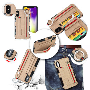 Image 3 - heavy duty protection phone Case for iphone xs max xr 8 7 6 5 6S Plus anti scratch Wallet CaseCard Pocket Finger Ring cover