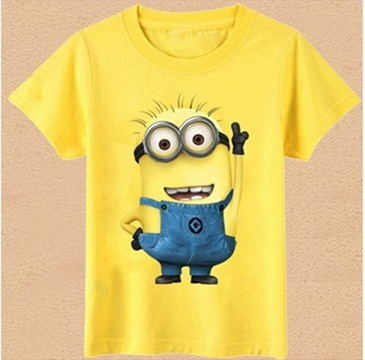Fashion Boys Girls T Shirt Cartoon Kids Clothes Tee T-Shirt Short Sleeve Top Casual Summer Clothing Cartoon Boy Girls Clohtes(China)