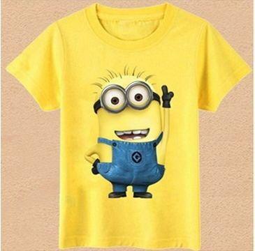 Moda niños niñas camiseta dibujos animados niños ropa camiseta de manga corta Top Casual verano ropa dibujos animados niño niñas Clohtes
