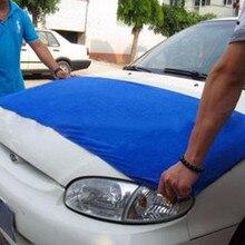 Чистящее полотенце 160x60 см губка для мытья машины Щетка Очиститель Стекла синяя волна мыть треугольник dyproship 19M7
