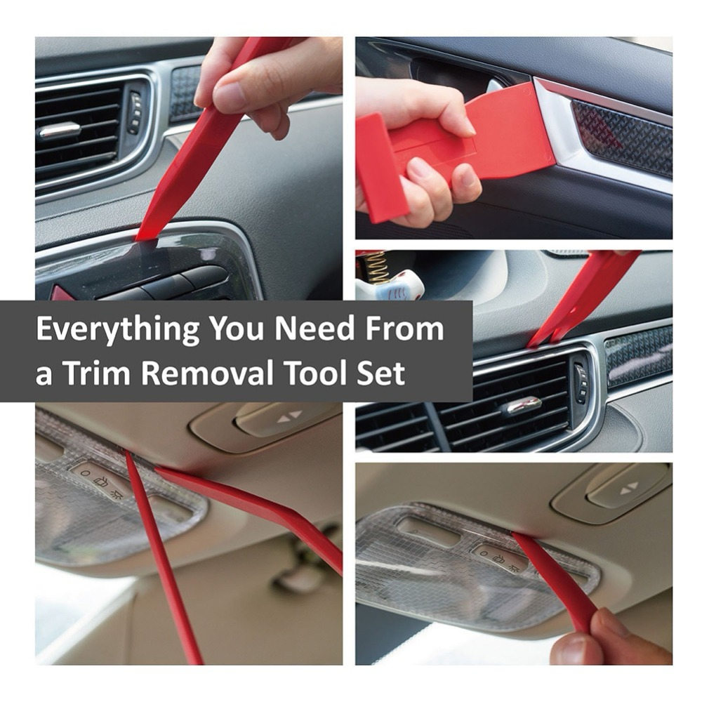 Image 5 - Car Installer Cover Pry Repair Tools Plastic Fastener Screwdriver Car Clip Pliers Door Panel Trim Fastener Tools-in Auto Fastener & Clip from Automobiles & Motorcycles