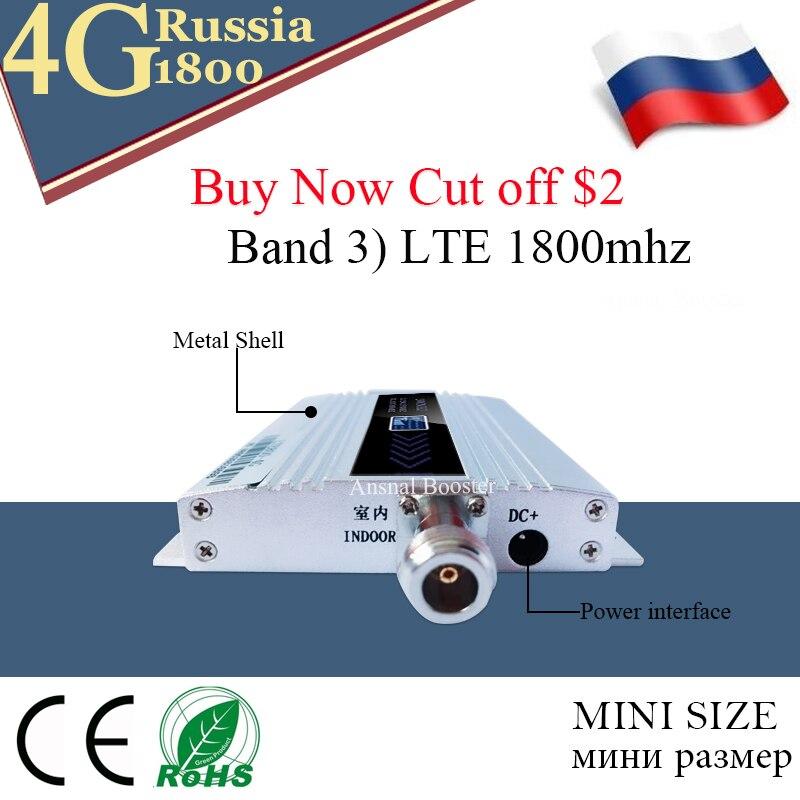 1800 amplificateur cellulaire répéteur 2g 4g 1800mhz GSM amplificateur de Signal Mobile 4g amplificateur de signal 1800 dcs téléphone cellulaire - 3