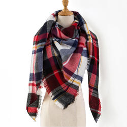 Za теплый кашемир зимний шарф женский платок 2018 люксовый бренд плед шарфы женские,модные шерсть шарфы платки палантины,шарф мягкий и