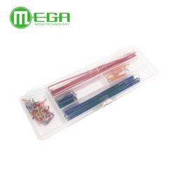 140pcs in one package convenient New Solderless Flexible Breadboard Jumper wires Cables for Arduino DIY KITS