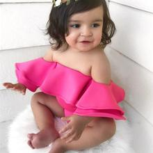 gxmjxdgmlndcp Toddler Girl Off-shoulder Bebe Summer Cute